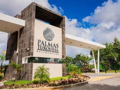 Se Renta Departamento De 3 Recamaras Semi-amueblado A Estrenar En Palmas Turquesa, Playa Del Carmen