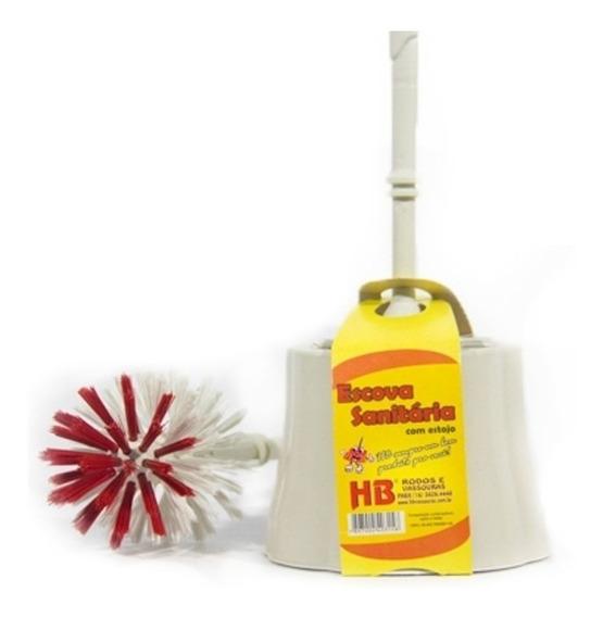 Escova De Limpeza Sanitária Hb Com Estojo Plastico 2 Duzias