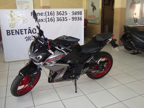 Kawasaki Z 300 Preto 2019