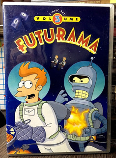 Futurama - Volumen 3 (2001) 4 Dvds