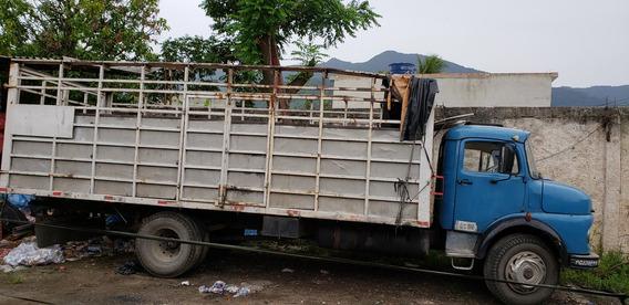Caminhão 1113 / 1979 - Carroceria/gaiola Transporte De Gás