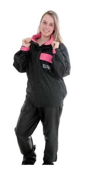 Capa Chuva Conjunto De Chuva Feminino Blusa Calca