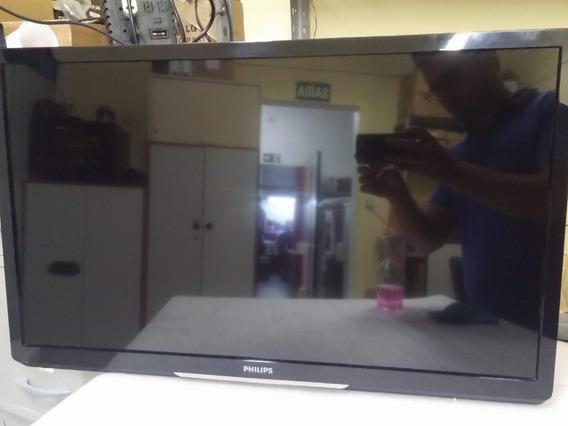 Tv Led Philips 32lpfl4017g/78 Sem Base, Seminova