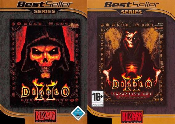 Jogo Original Para Pc - Diablo 2 E Diablo 2 Expansion Set
