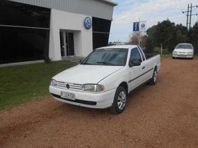 Volkswagen Saveiro Pick Up 1.6 Nafta Año 99. Sana. Barriola