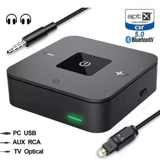 Transmissor Receptor Bluetooth 5.0 Aptx Baixa Latência