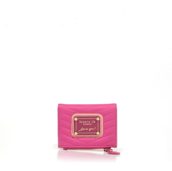 Billetera Juanita Jo Mini Brand (fucsia - 30044 )