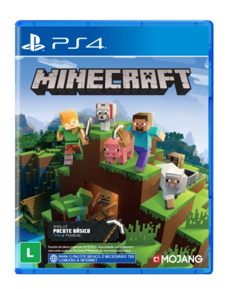 Minecraft Ps4 Mídia Digital