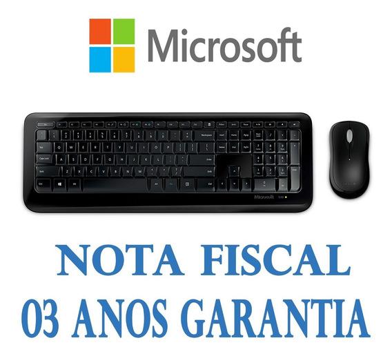 Kit Teclado E Mouse Microsoft Wireless Desktop 800 Sem Fio