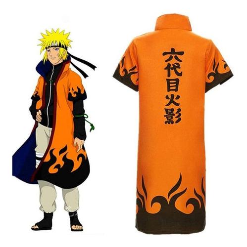 Imagen 1 de 4 de Capa Hokage Naruto Anime De Colección