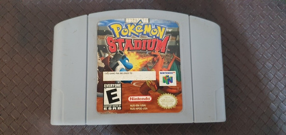 Pokemon Stadium Nintendo 64 Original