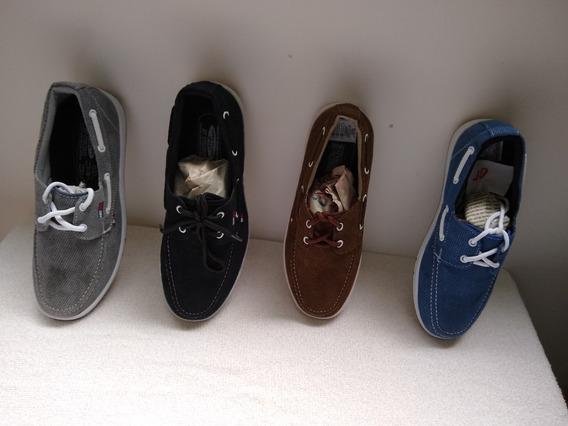 Zapatos Tommy 100% Nuevos En Lona