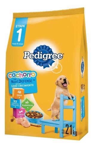 Imagen 1 de 2 de Comida Perro Pedigree Cachorro 21kg + Envío Gratis*
