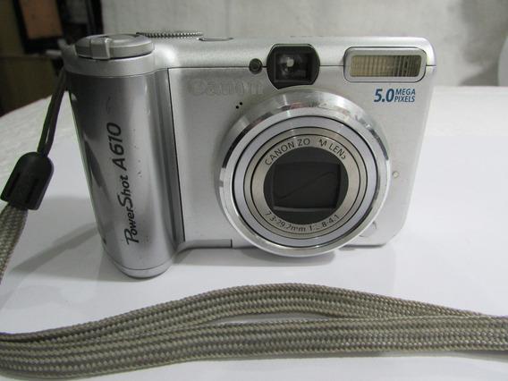 Camera Digital Canon Powershot A610 Modelo Pc1146