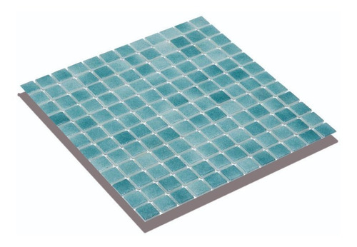 Venecitas Verde Agua Niebla Calidad Premium 2,5x2,5 Por M2