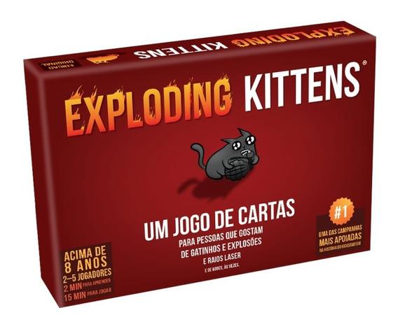 Exploding Kittens - Jogo De Cartas - Galapagos