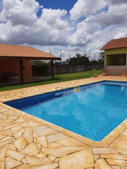 Chácara Residencial À Venda, Parque Dos Pinheiros, Nova Odessa. - Ch0012
