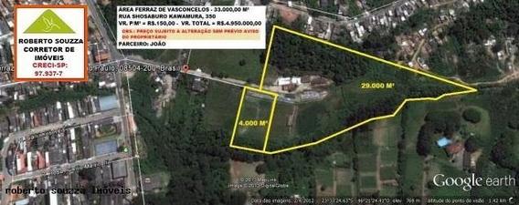 Área Para Venda Em Ferraz De Vasconcelos, Jardim Yone - 00083_1-194775