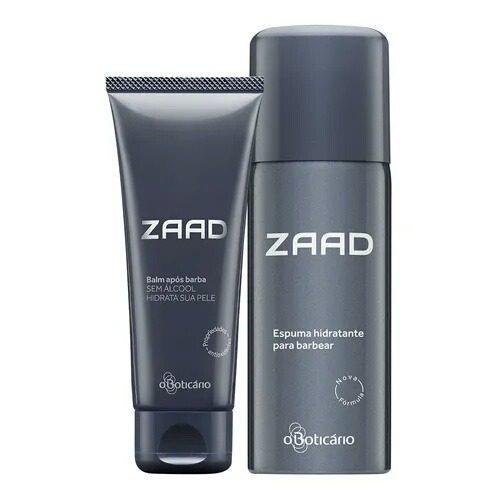 Combo Barba Zaad Para Cuidado Do Rosto Masculino