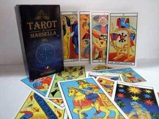 Cartas Tarot Marselles-rider-egyptian-de Los Angeles-santos-