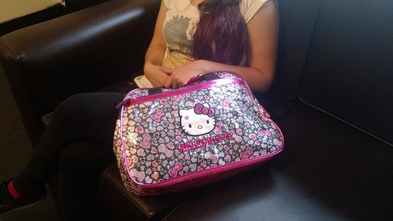 Bolso Hello Kitty Tipo Cartera + Llavero De Regalo