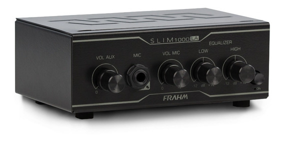 Kit 2 Caixa De Som Com Suporte + Amplificador Slim 1000 La