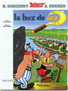 Asterix Obelix La Hoz De Oro En Tapa Dura 50 Paginas