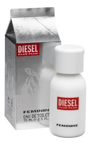 Diesel Plus Plus Femenine 75ml Para Mujer Eros Perfume Outle