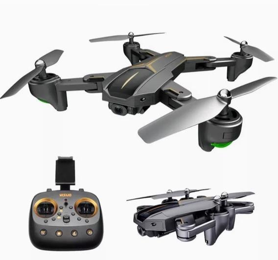 Drone Visuo Com Gps Via Satélite 3 Bateria E Relógio Brinde
