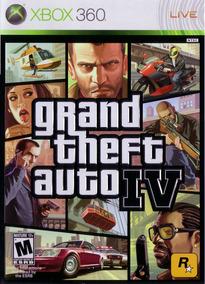 Grand Theft Auto Iv - Gta 4 - Xbox 360 - Usado