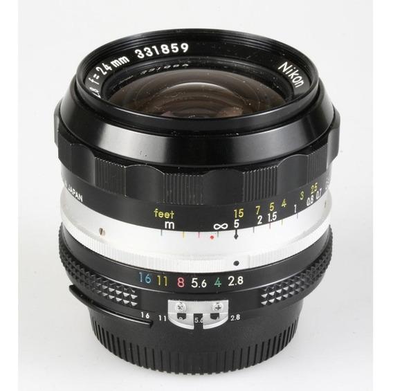 Objetiva Nikon Ai N Auto 24mm F2.8
