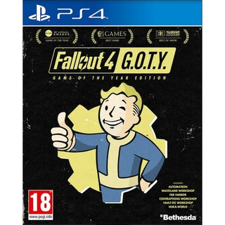 Juego Ps4 Fallout 4 Game Of The Year Edition (eu)