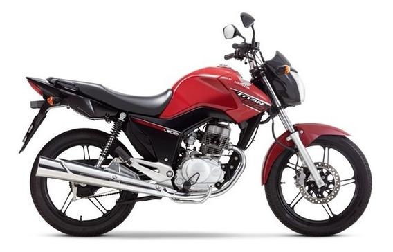 Honda Cg150 New Titan Rojo 2020 0km Avant Motos.