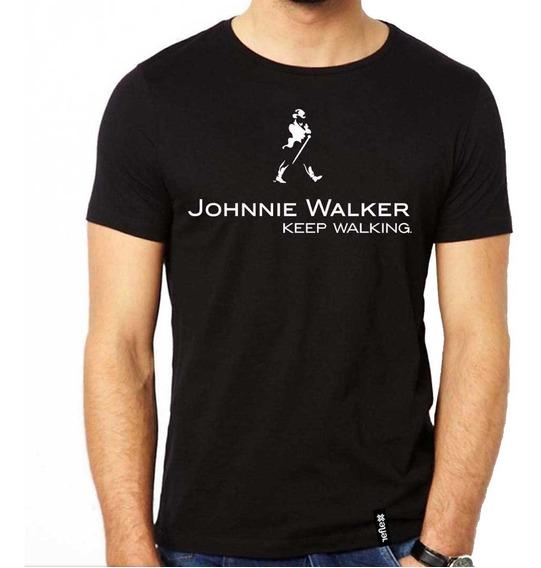 Remeras Johnnie Walker - Varios Modelos - Calidad Premium