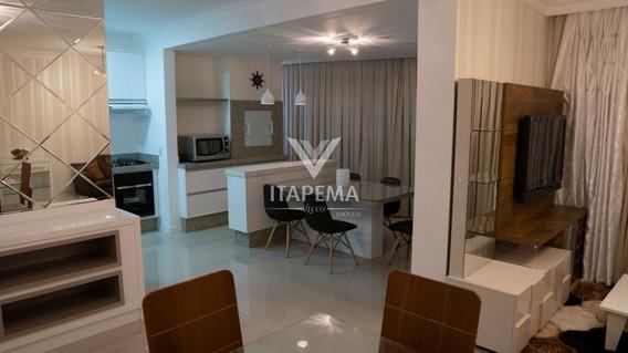 Apartamento 04 Suítes Em Até 60x Na Meia Praia - Ref 568