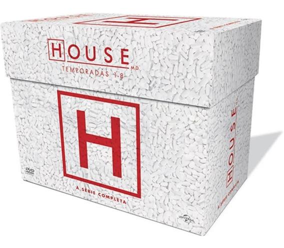 House Box Série Completa 8 Temporadas