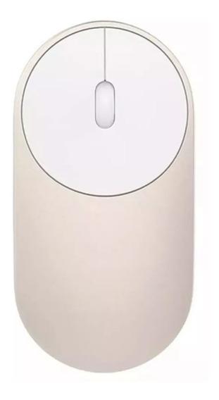 Mouse Sem Fio Xiaomi Mi Portable Bluetooth Wireless Dourado