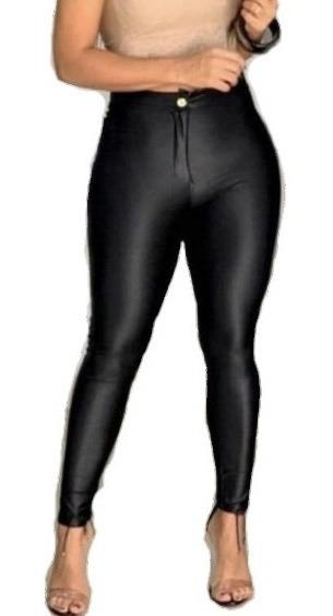 Calça Legging Cirre - Disco Pants Em Couro Fake