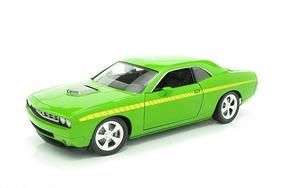 Plymouth Cuda Aar Concep Rallye 1:18 Highway 61 Verde