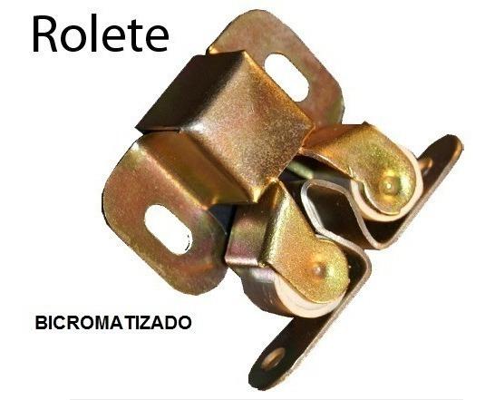 Fecho Trinco Rolete Bicro Portas E Armarios 12 Peças(2742)