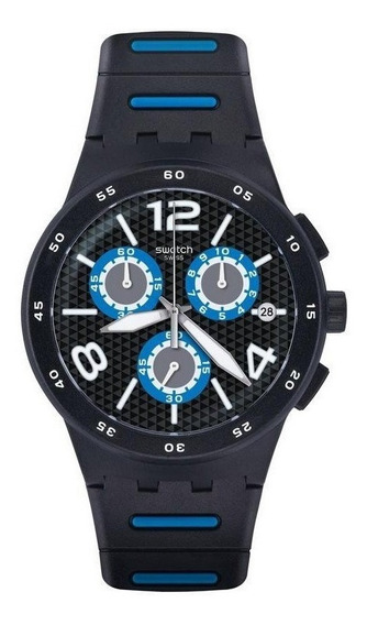 Reloj Swatch Irony Chronografo Black Spy