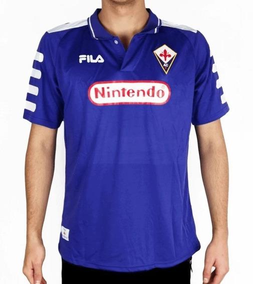 Fiorentina 98/99 Retro - Numeração Jogador Ou Sem Numeração
