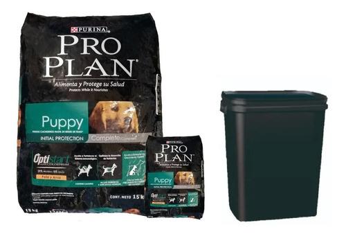 Pro Plan Cachorro Raza Mediana 15k +contenedor+ Envio Gratis