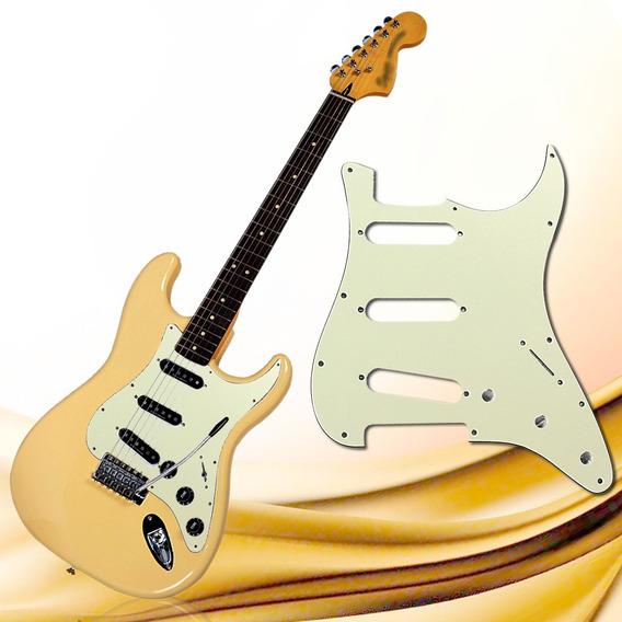 Escudo Branco Para Guitarra Modelo Strato Sss E