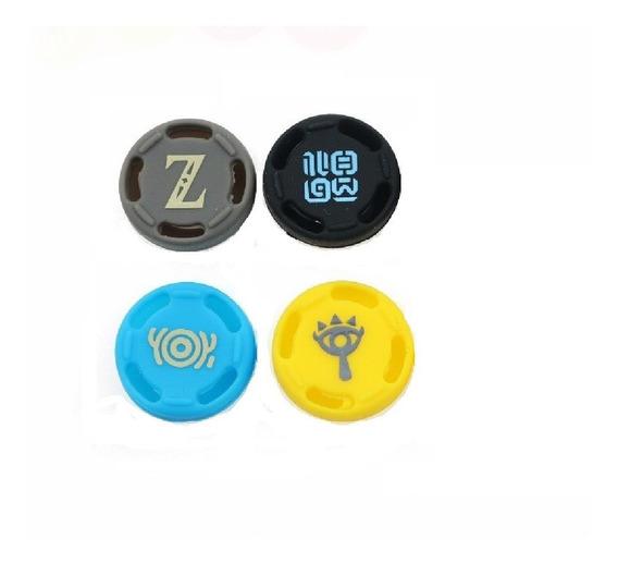 4x Caps Analogico Zelda Botw -xbox,ps4, Wiiu,switch Pro