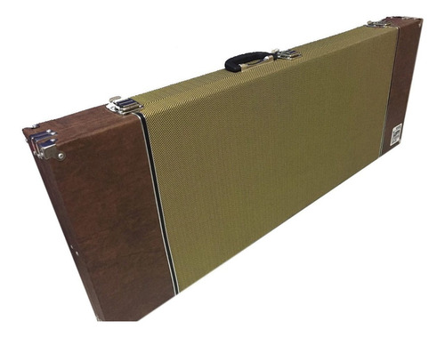 Imagem 1 de 6 de Case Guitarra Tweed Fender Sg Les Paul Strato Telecaster