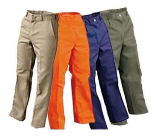 Pantalón De Trabajo Simil Grafa - Talles Y Colores - Veotex