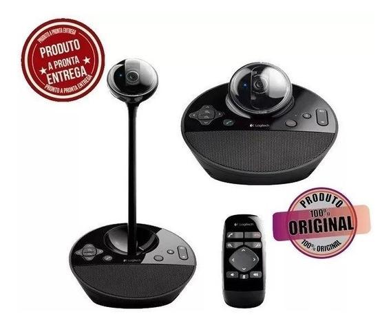 Webcam Câmera Logitech Bcc950 Videoconferencia Reunião Zoom