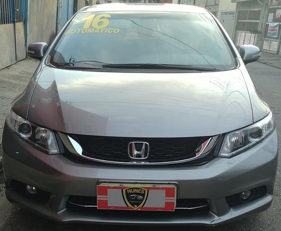 Honda Civic Lxr 2.0 Flex Completo Automático 2016