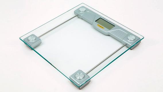 Bascula De Baño 150 K Cuadrada Lcd Digital Moderna Cristal